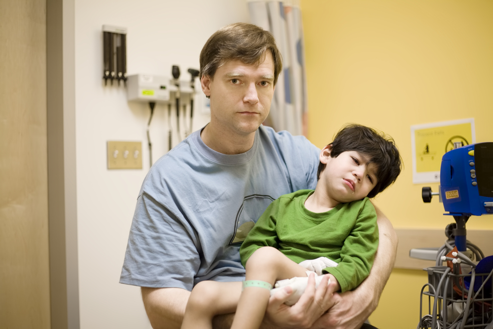 concerned father in need of a cerebral palsy malpractice attorney