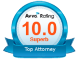 Avvo Superb Top Attorney
